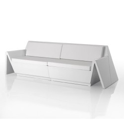 Rest Sofa Vondom white Matt