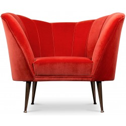 Chair ANDES red BRABBU Design Forces