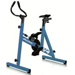 Pool AquaNess V4 light blue bike