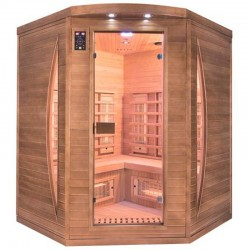 Sauna Infrared Spectra 3 Places angular Quartz and Magnesium