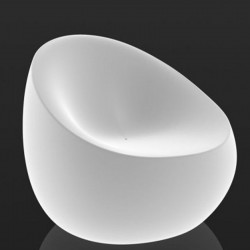 Bright Chair Vondom White Stone