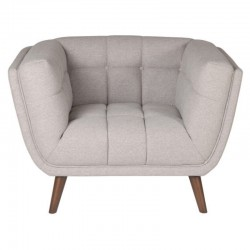 Armchair in fabric gray Meryl KosyForm