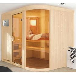 Sauna steam 9 kW traditional Finnish 5 seats Spherium Prestige - exclusive VerySpas