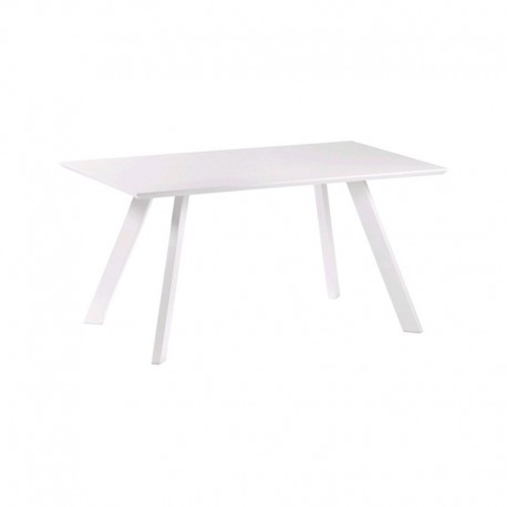 White Lacquered Dining Table 150 Possible KosyForm