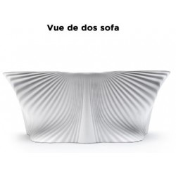 Outdoor sofa BIOPHILIA Vondom - white