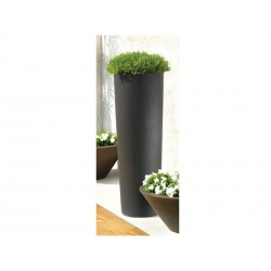Pots of outside Lago Anthracite BaySeasons Design