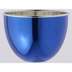 BOwl is a bowl blue polished Tin OA1710 champagne