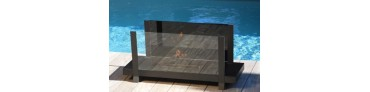 Outdoor bio ethanol fireplaces