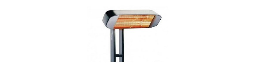 Electric outdoor heater